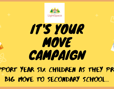 The LightSpace It's Your Move Campaign….